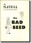 The-Bad-Seed-Playbill-12-54