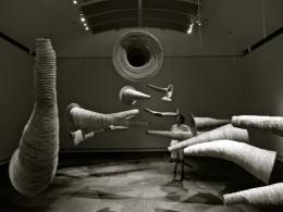 DAN 2 - SOUTH AUSTRALIAN ART GALLERY - CONTEMPORARY INDIGENOUS ART - WEAVING