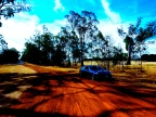 ON THE ROAD - LEAVING THE GRAMPIANS (2)