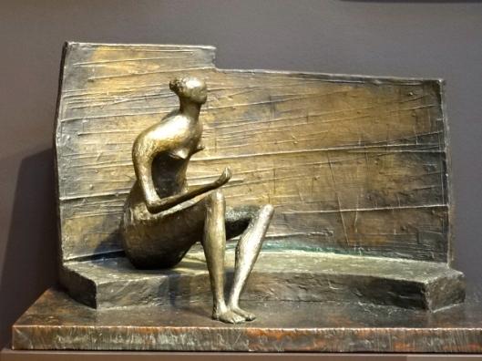 SOUTH AUSTRALIAN ART GALLERY - CONTEMPORARY ART - HENRY MOORE