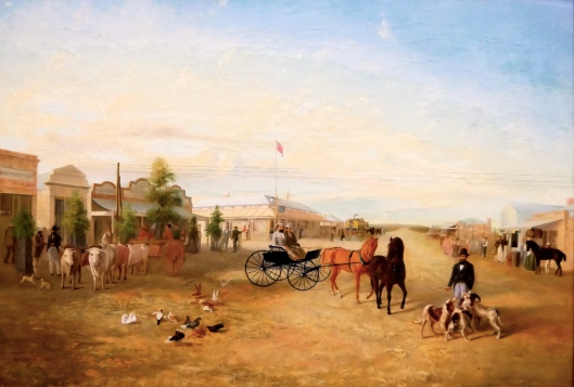 SA ART GALLERY - COLONIAL ART - CHARLES HILL - Georgetown (1877)