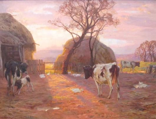 SA ART GALLERY - HANS HEYSEN - A Pastoral (1907)