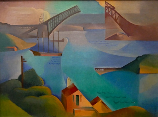 SA ART GALLERY - MODERNS - DORRIT BLACK - The bridge (1930)