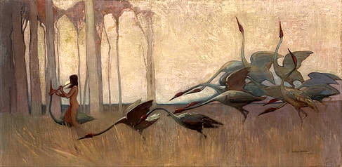 Sydney_Long_-_The_Spirit_of_the_Plains (1914)