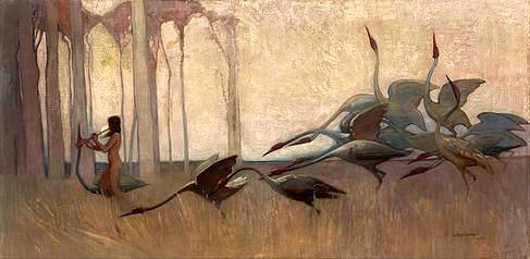 Sydney_Long_-_The_Spirit_of_the_Plains (1914)