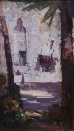 CARIO STREET SCENE (c.1897) - ARTHUR STREETON