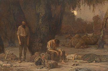 440px-John_Longstaff_-_Arrival_of_Burke,_Wills_and_King,_1861